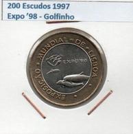 1997 Portugal 200 Escudos 1997 Expo 98 - Golfinho - Portugal