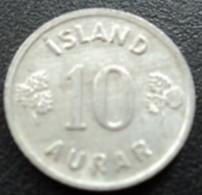 ISLANDE - 10 AURAR -1974 - Iceland