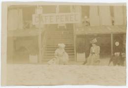 Pornichet (Loire-Atlantique). Café Penel. Restaurant. 1907. - Lugares