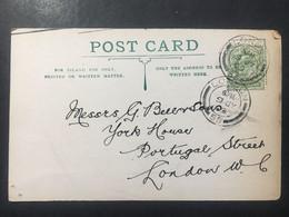 GB Edward VII Pre-paid Postcard `Philip & Tacey Ltd` - 2 Scans - Cartas