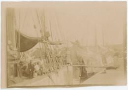 Bateau à La Rochelle (Charente-Maritime). 1907. - Places