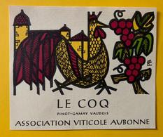 16127 - Le Coq Pinot Gamay Vaudois Association Viticole Aubonne - Other