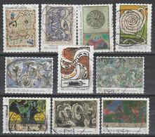 4244/4253 Pierre Aleckinsky Oblit/gestp - Used Stamps