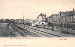 Le Quai Du Commerce Et Le Pont Sur La Lys - Courtrai - Kortrijk - Kortrijk