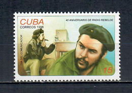 Communicators' Day - The 40th Anniversary Of The Radio Rebelde - Prefilatelia