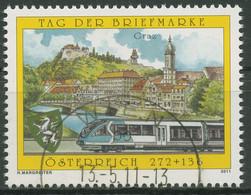 Österreich 2011 Tag Der Briefmarke Graz Stadtansicht S-Bahn 2936 Gestempelt - 2011-... Usati