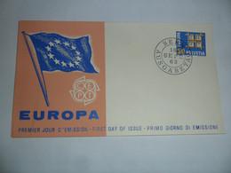 SVIZZERA  1963  FDC EUROPA - FDC