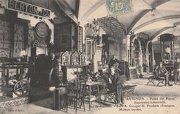 84 AVIGNON EXPOSITION PALAIS DES PAPES 1907 STAND BERTON - Avignon