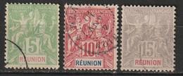 Réunion N° 46, 47, 48 - Gebruikt