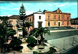 21035) CARTOLINA DI ACI CATENA-LA VILLA - CHIESA DEI FRATI MINORI-NUOVA - Catania