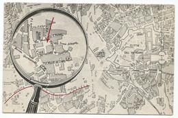 O3614 Roma - Istituto Immacolata Concezione Nostra Signora Di Lourdes - Mappa - Cartina / Non Viaggiata - Education, Schools And Universities