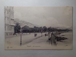 ITALIE,  NAPOLI,   VIA CARACCIOLO,  CARTOLINA POSTALE  (095) - Napoli (Naples)