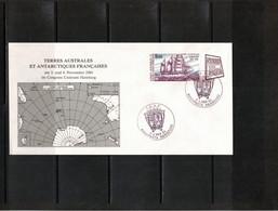 TAAF Antarctica 1984 Nordposta Hamburg Interesting Letter - Briefe U. Dokumente