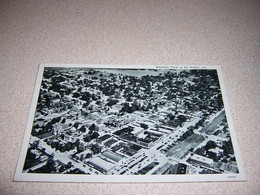 1940 AERIAL AIRPLANE VIEW Of DE RIDDER, LOUISIANA VTG POSTCARD - Other