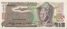 GUATEMALA=1979    50  CENTAVOS    P-58    UNC - Guatemala