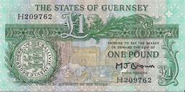 GUERNSEY=N/D    1  POUND    P-48b    UNC - Guernsey