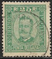 Ponta Delgada – 1892 King Carlos 25 Réis - Ponta Delgada