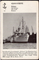 "Allemagne - Carte Postale - Vapeur De Luxe - ""Reliance"" - Circa 1930 - Non Circulé - A1RR2 - Passagiersschepen"