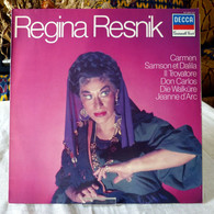 Regina Resnik : Carmen, Samson Et Dalila, Le Trouvere, Don Carlos... - Opera / Operette