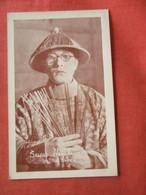 Kintaro Hayakawa   Known Professionally As Sessue Hayakawa   Ref 4413 - Artistas