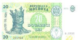 2018. Moldova, New 20L/2015, UNC - Moldova