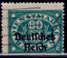 Germany , Bavaria, Bayern, 1920, Official 60pf, Sc#O59, Used - Dienstpost