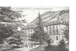 ETREMBIERES PAR ANNEMASSE N 1553   GROS PLAN  PERSONNAGES   PREVENTORIUM   FRANCO BRITANNIQUE  ENFANTS    DEPT 74 - Frankreich