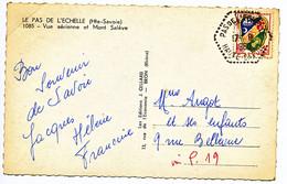 HAUTE SAVOIE CP 1961 PAS DE L'ECHELLE AGENCE POSTALE - 1961-....