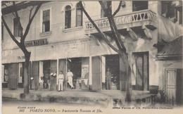DAHOMEY - PORTO NOVO - FACTORERIE NAOUM ET FILS - Plusieurs Hommes Devant La Boutique - Dahomey