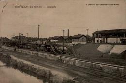 71-MONTCEAU LES MINES...ESTACADE....CPA - Montceau Les Mines
