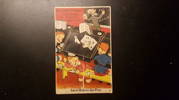 44 - Carte Postale à Système Saint Brevin Les Pins - Dans Le Bureau D'école Vous Verrez 10 Vues - édition Gaby - Saint-Brevin-les-Pins