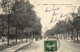 PARIS  Avenue De Villars ( Invalides)  Recto Verso - Arrondissement: 07