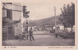 64. BEHOBIE. Frontière Espagnole. Le Pont Frontière. 96 - Béhobie