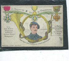 Théme-Militaria-REGIMENT-Un BOnjour Du 9e BATAILLON De CHASSEURS ALPINS A PIED Dissous En 1940 - Regiments