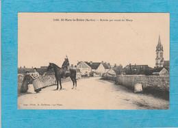 Saint-Mars-la-Brière, 1904. - Entrée Par La Route Du Mans. - Other Municipalities