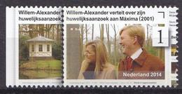 Nederland - 12½  Jaar Koninklijk Huwelijk Willem-Alexander/Maxima - MNH - NVPH 3204 Tab Links - Used Stamps