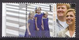 Nederland - 12½  Jaar Koninklijk Huwelijk Willem-Alexander/Maxima - MNH - NVPH 3205 Tab Links - Used Stamps