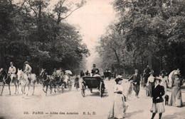CPA - PARIS - BOIS DE BOULOGNE - Allée Des Acacias - EditionE.L.D. - Parchi, Giardini