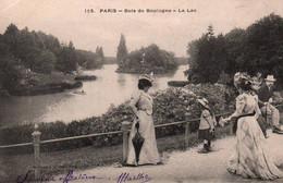 CPA - PARIS - BOIS DE BOULOGNE - Le Lac - Edition E.Le Deley - Parchi, Giardini