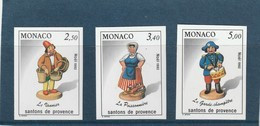 Monaco Non Dentelé 1846 A 1848 Santon - Other