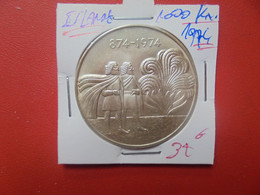 ISLANDE 1000 KRONUR 1974 ARGENT (A.16) - Island