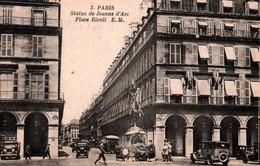 CPA - PARIS - PLACE RIVOLI - Statue De JEANNE D'ARC - Edition E.M. - Plazas