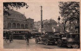 CPA - PARIS - PLACE Du CHÂTELET … (voitures) - Edition N.Manuélian - Plazas