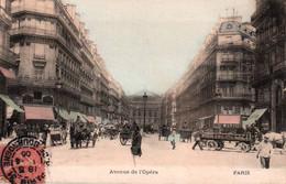CPA - PARIS - AVENUE DE L'OPERA - Edition ? - Distretto: 01