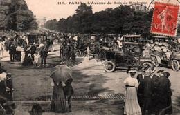 CPA - PARIS - AVENUE Du BOIS De BOULOGNE … (voitures) - Edition ? - Distrito: 16