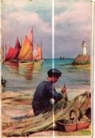 CALENDRIER DE POCHE  1959  .. LINGE DE MAISON CAPRICIA  TOURS  ( Trait Blanc Pas Sur L'Original ) - Calendari
