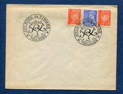 ⭐ France - FDC - Premier Jour - Journée Du Timbre - Toulouse - 1944 ⭐ - ....-1949