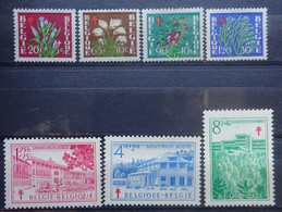 BELGIE 1950     Nr. 834 - 840    Postfris **     CW 54,00 - Nuevos
