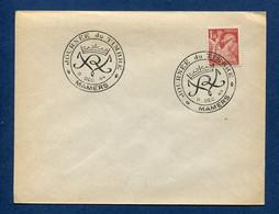 ⭐ France - FDC - Premier Jour - Journée Du Timbre - Mamers - 1944 ⭐ - ....-1949
