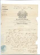 FRANC MACONNERIE BEZIERS Hérault Courrier 30.11.1860 Concerne Frère HUTTIER ....G - Unclassified